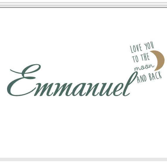 Emmanuel's cadeautje