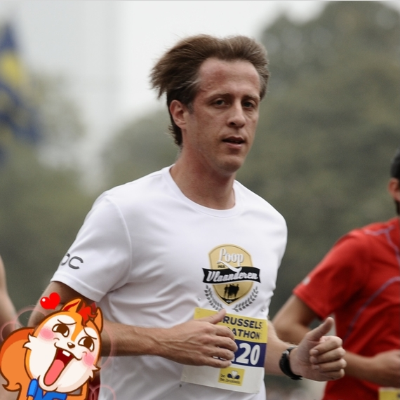 Angelico loopt 20km voor de rechten van kinderen