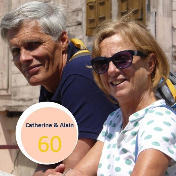 Catherine & Alain - 60 ans - 60 jaar