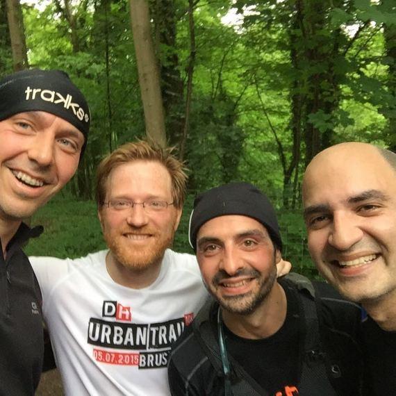 Seb, Denis, Adel & Ced