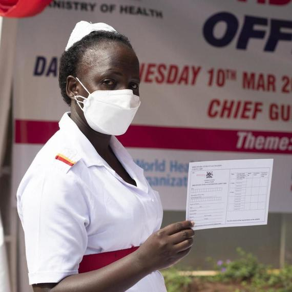Supporting vaccination for frontline workers, everywhere