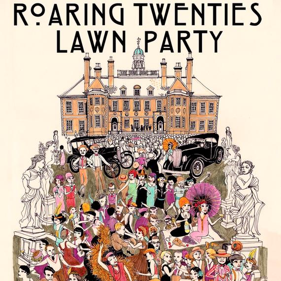 roaring 20 lawn party - Tom&Isabel verjaardagsfeest