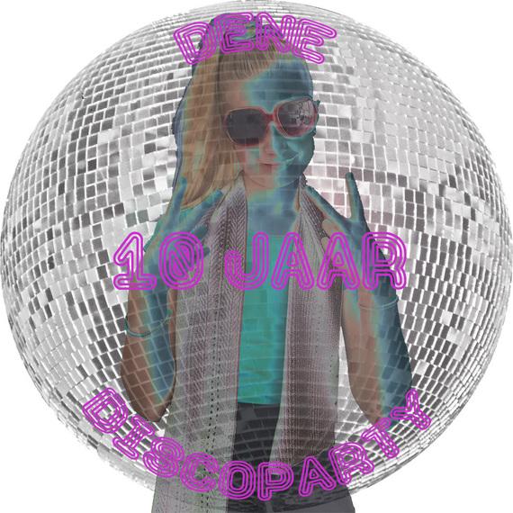 disco Dene 10 jaar