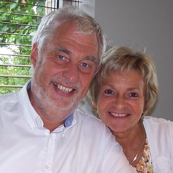 Pensioenfeest Claudine en Hendrik