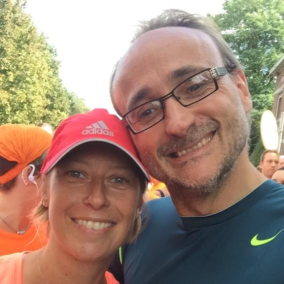 Les premiers 20km de BXl de Christian, à 46 ans!