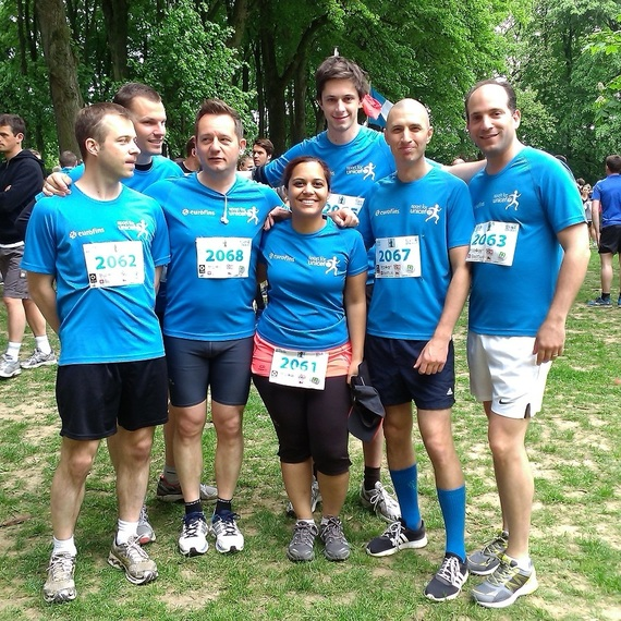 Eurofins Brussels runs for Unicef!