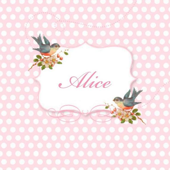 Geboortelijst Alice De Coster