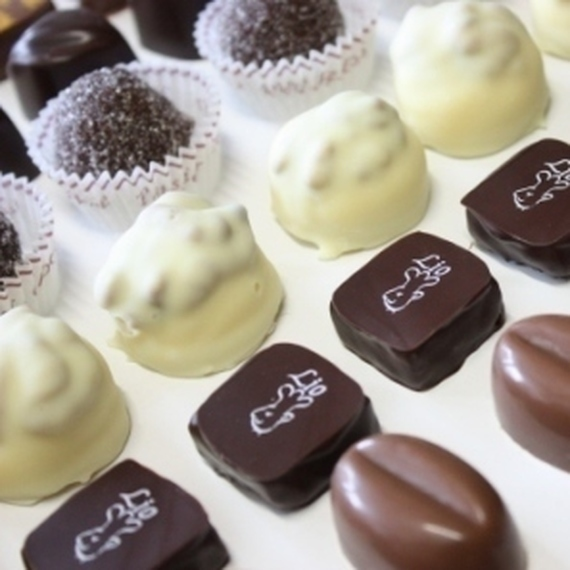 Vente des chocolats Lio