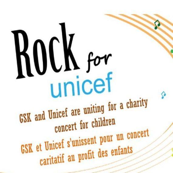 Rock for UNCEF